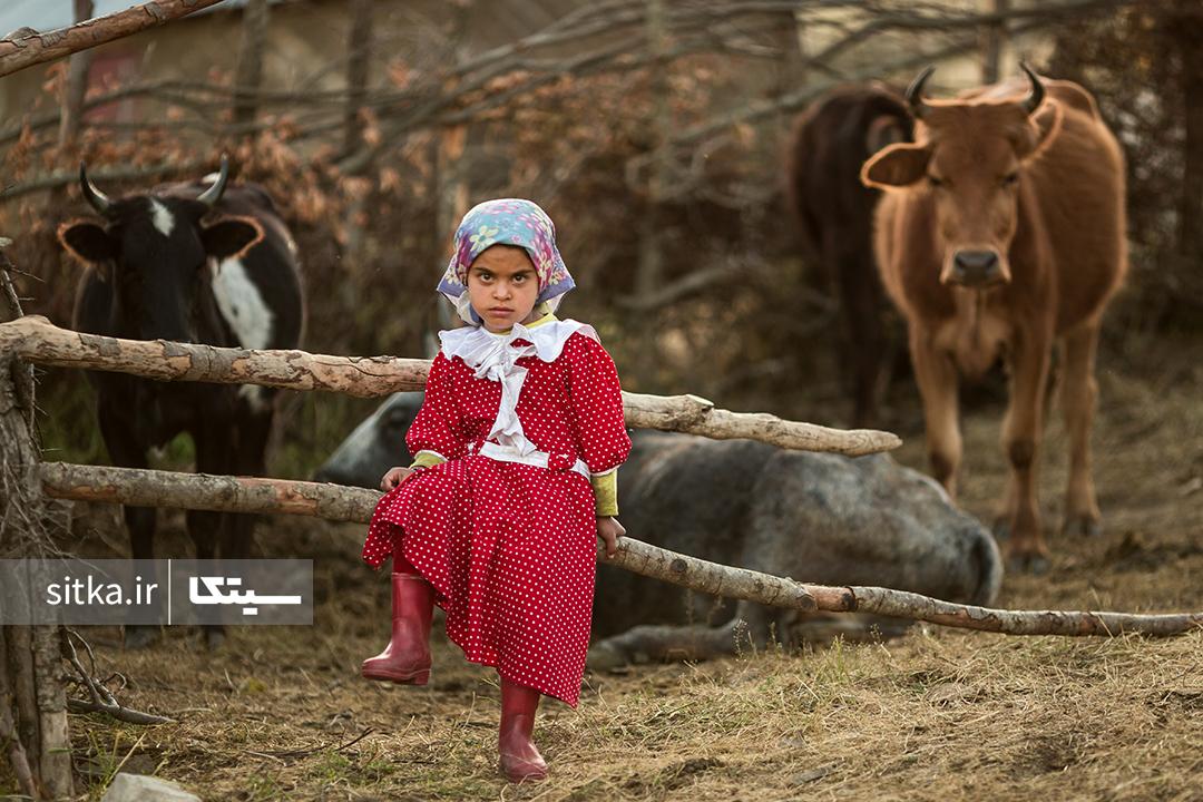 دختر روستایی