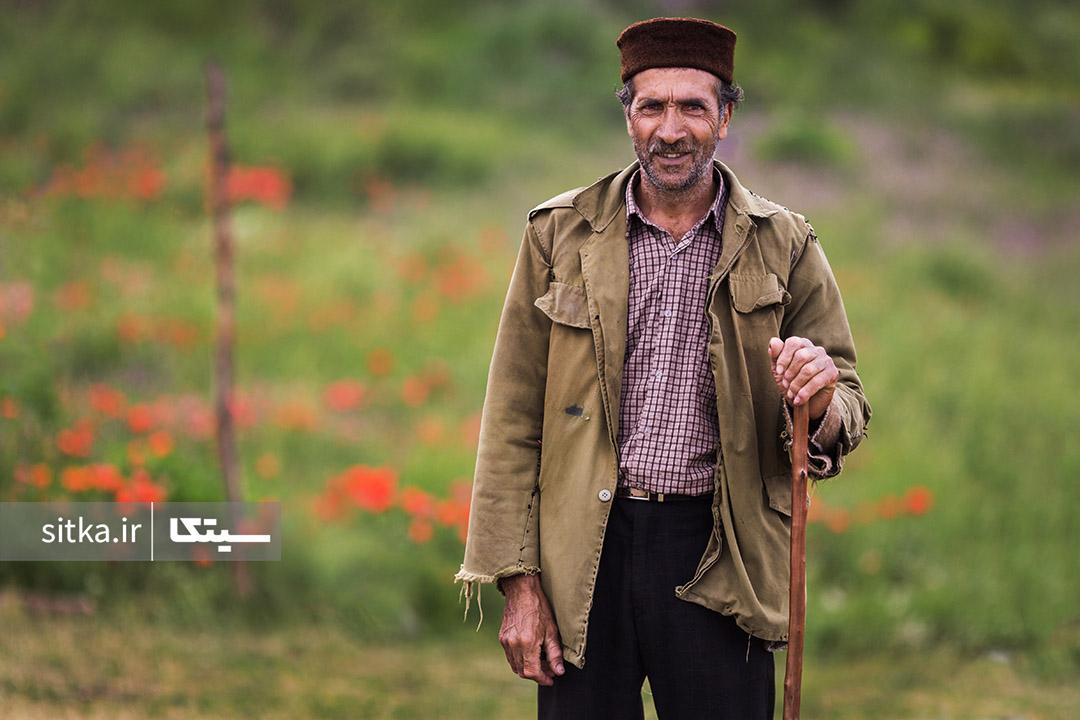 مرد روستایی