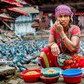 زن نپالی