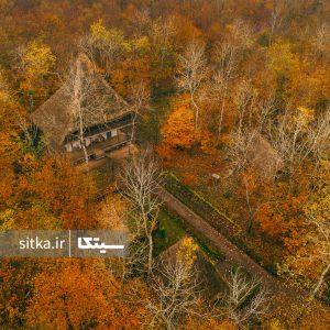 موزه میراث روستایی گیلان در پاییز